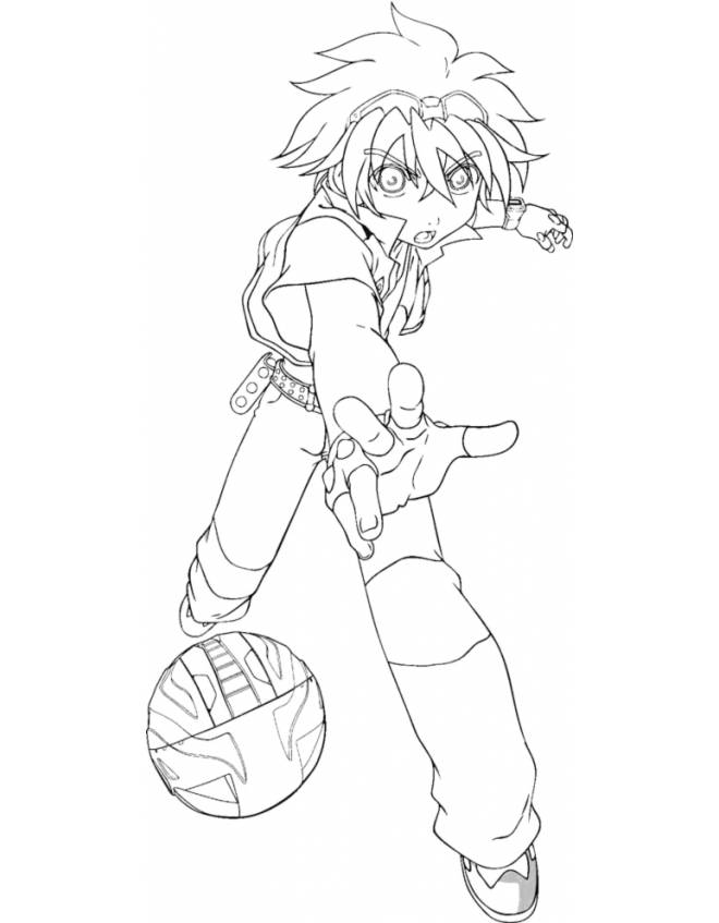 bakugan battle brawlers coloring pages - photo#6