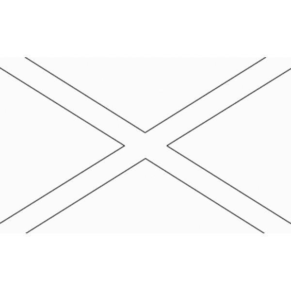 Disegno Di Bandiera Irlanda Del Nord Da Colorare Per Bambini