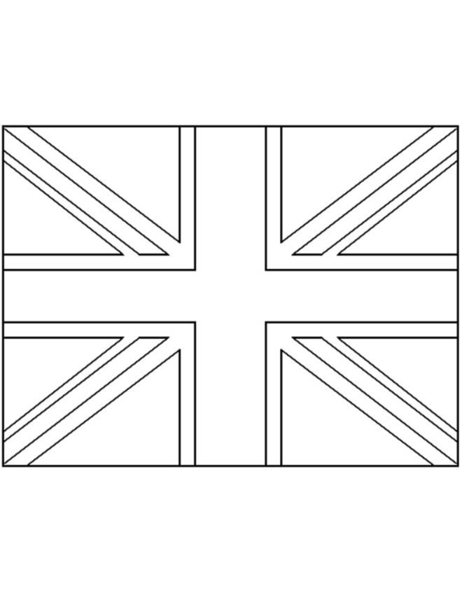 Regno Unito Cartina Da Colorare.Disegno Di Bandiera Del Regno Unito Da Colorare Per Bambini Disegnidacolorareonline Com
