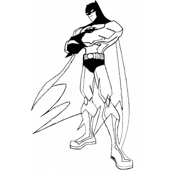 Disegno di Batman da colorare