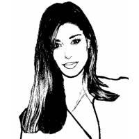 Disegno di Belen Rodriguez da colorare