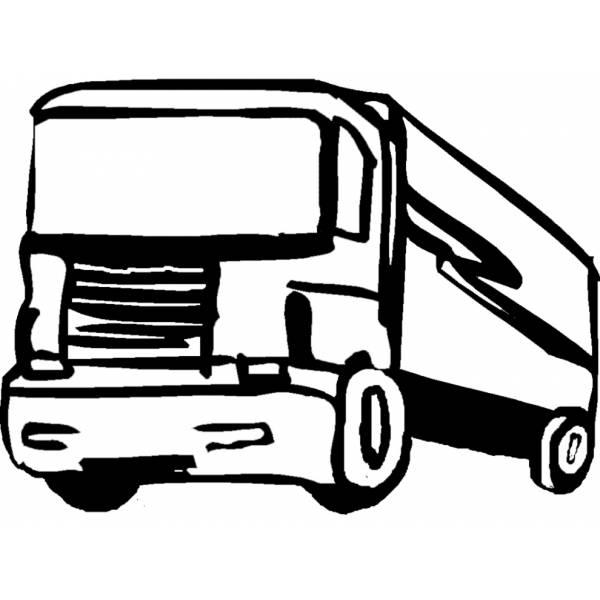 Disegno Di Camion Da Colorare Per Bambini Disegnidacolorareonlinecom