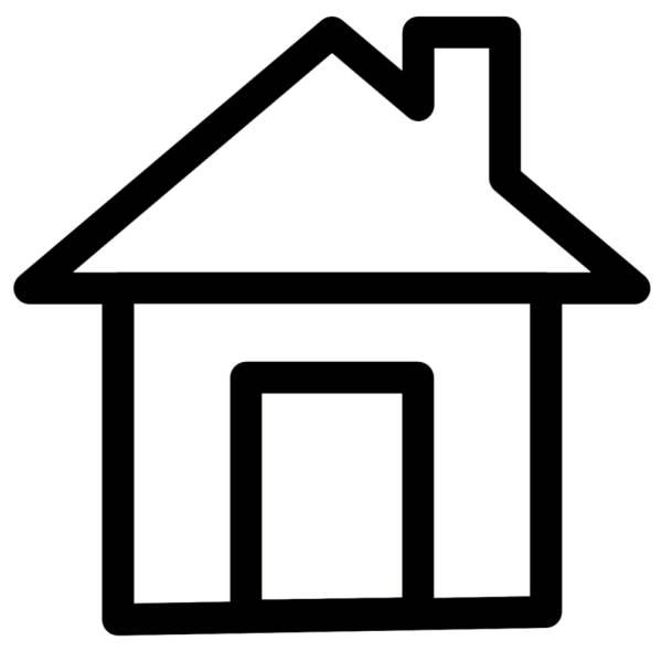 Disegno di casa da colorare per bambini for Disegni di case di tronchi