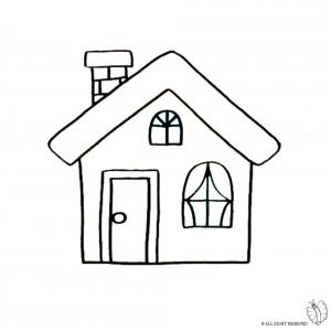 Case da colorare bing images - Disegnare casa on line ...