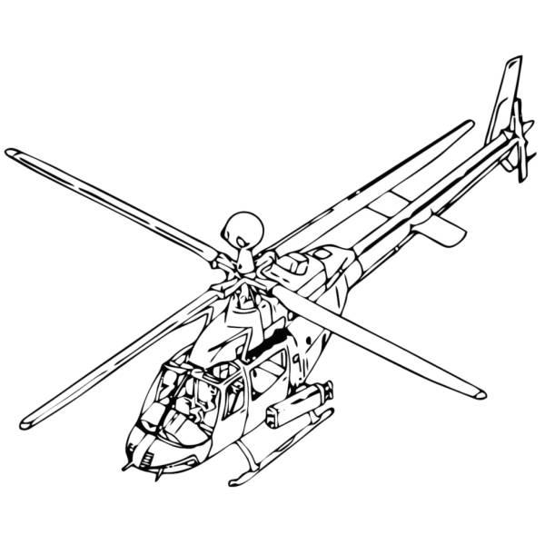 Disegno Aereo Da Colorare.Disegno Di Elicottero Da Colorare Per Bambini