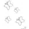 Disegno di Farfalle  da colorare