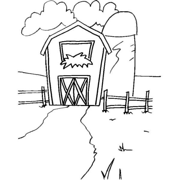 Cartoni animati la fattoria degli animali cornice