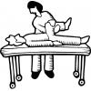 disegno di Fisioterapista da colorare