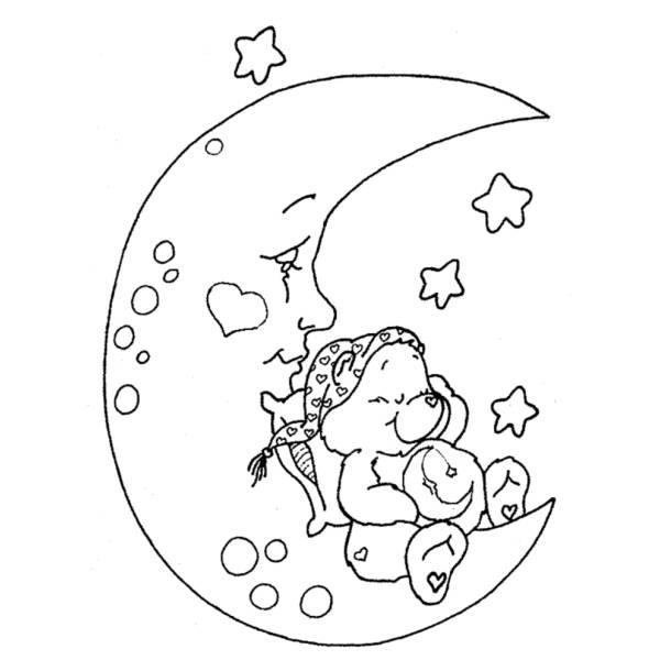 Disegno Di Orsetto Del Cuore Da Colorare Per Bambini