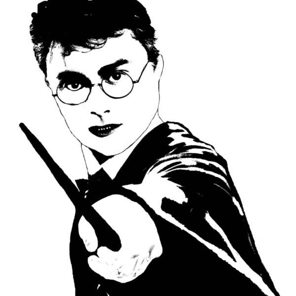 Disegno di Harry Potter da colorare