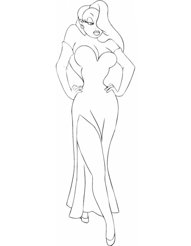 roger rabbit characters coloring pages - photo#32