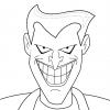Disegno di Joker da colorare