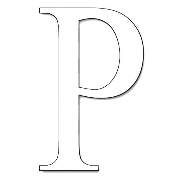 Disegno di lettera p da colorare per bambini lettera p thecheapjerseys Images