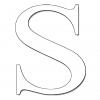 Disegno di Lettera S da colorare