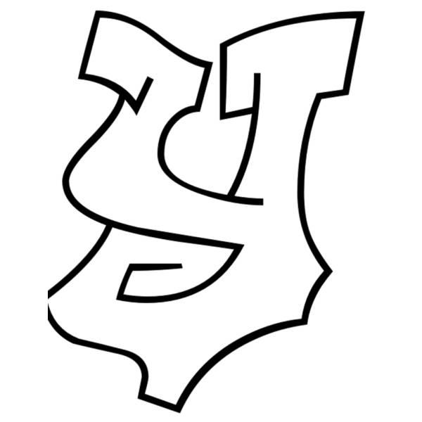 Disegno di Lettera y da colorare