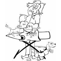 disegno di Mamma Tuttofare da colorare