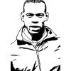 disegno di  Mario Balotelli da colorare