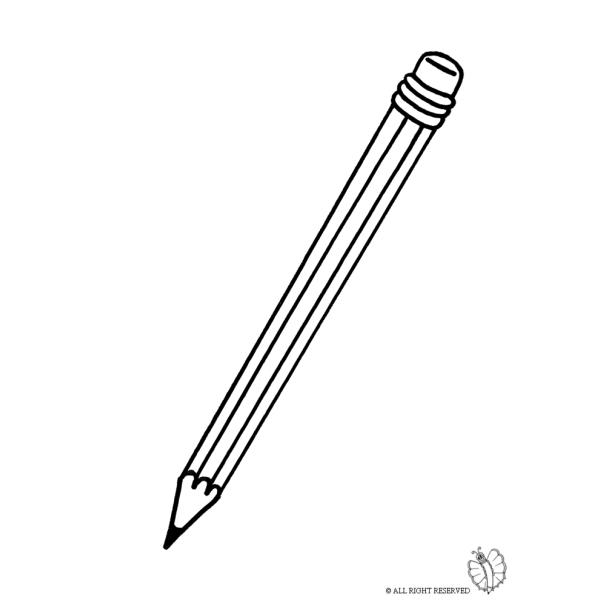 Disegno di matita da colorare per bambini for Costruzione di disegni online