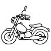 Disegno di Moto da colorare