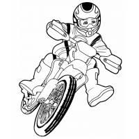 Disegno di Motocross da colorare