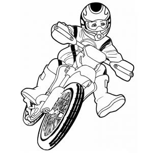 Disegni Per Bambini Motocross Fare Di Una Mosca