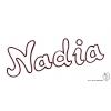 Disegno di Nadia da colorare