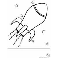 Disegno di Navicella Spaziale da colorare