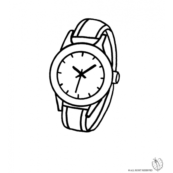 Coloring Pages Of Pwatches