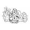 Disegno di Gli Orsetti del Cuore da colorare