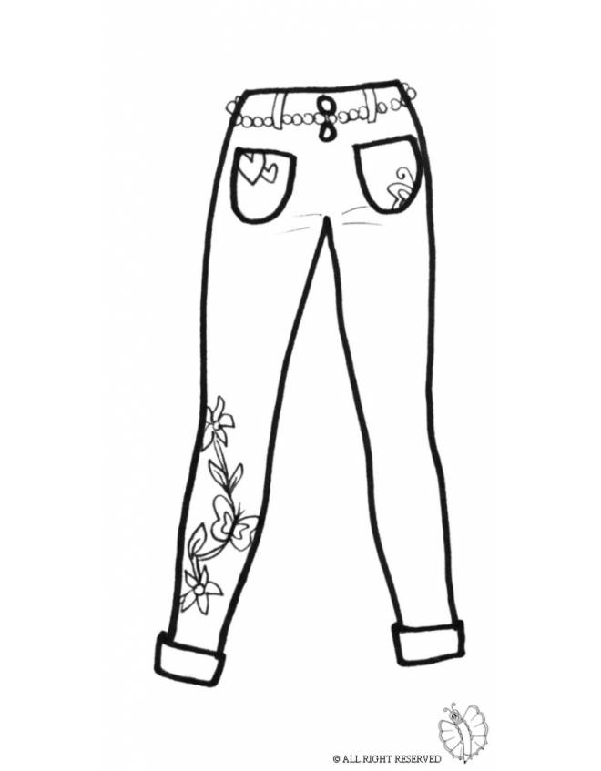 Colorare Disegno Bambini Per Donna Pantaloni Di Da Wnoqhcpv