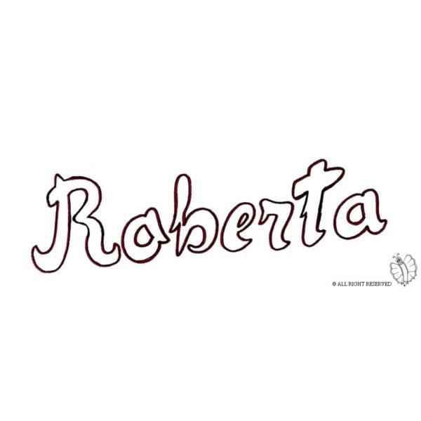 Disegno di Roberta da colorare