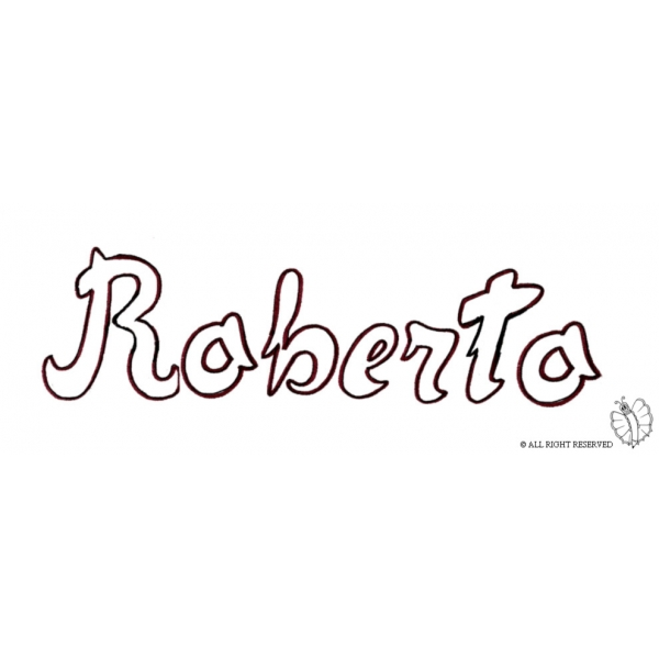 Disegno di Roberto da colorare