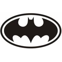 Disegno di Simbolo di Batman da colorare