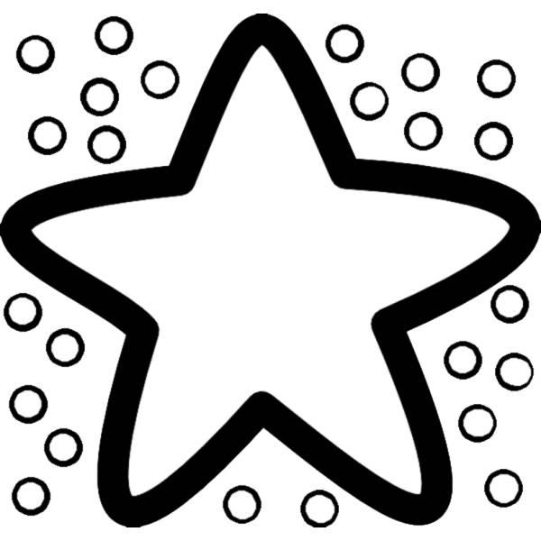 Disegno Di Stella Marina Da Colorare Per Bambini