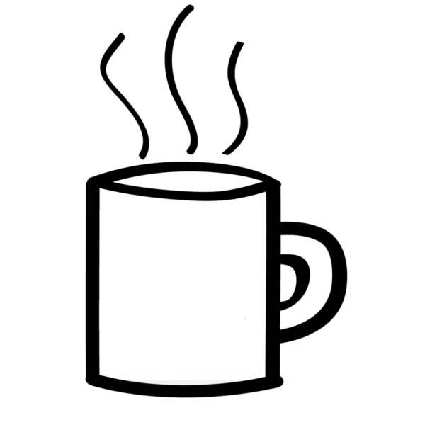 Disegno Di Tazza Di Tè Da Colorare Per Bambini