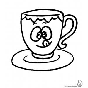 Tazzina da caffè disegno