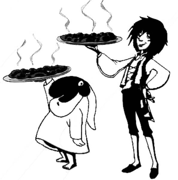 Disegno di Totò Sapore e la Pizza da colorare