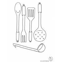 disegno di Cucinare da colorare