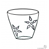 disegno di Vaso  da colorare