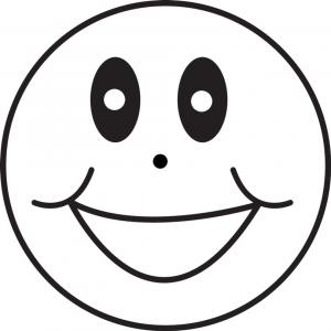 Disegno di Emoticon Sorriso da colorare