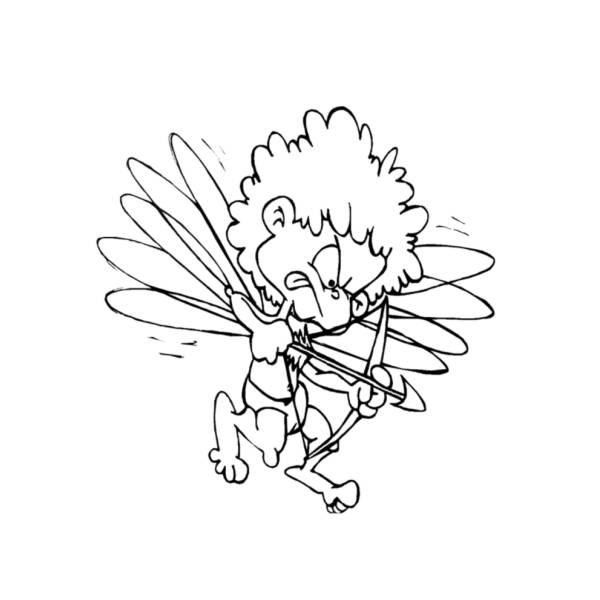 Disegno di Il Piccolo Cupido da colorare