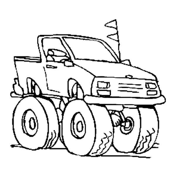 Disegno di jeep da colorare per bambini for Jeep da colorare