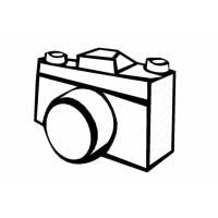 disegni da colorare per bambini macchina fotografica