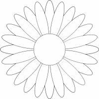 disegno di Margherita da colorare