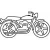 Disegno di La Moto da colorare
