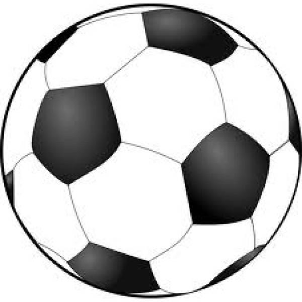 Disegno Di Pallone Calcio Da Colorare Per Bambini