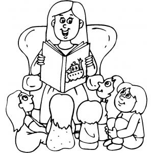 Disegno di racconti di fiabe da colorare per bambini - Racconti biblici per bambini gratis ...