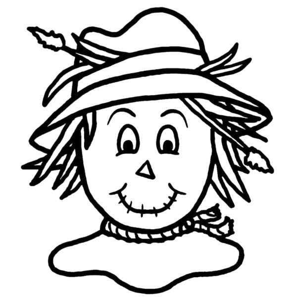 Disegno di spaventapasseri da colorare per bambini - Immagini di aquiloni per colorare ...
