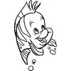 Disegno di Flounder da colorare