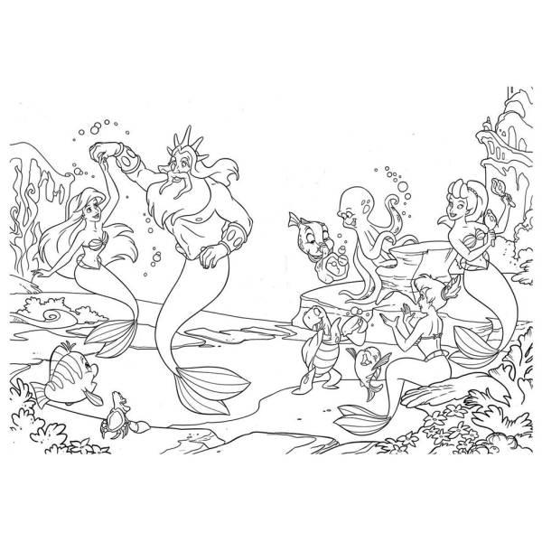 La sirenetta disney book2 056jpg sketch coloring page for La sirenetta da stampare
